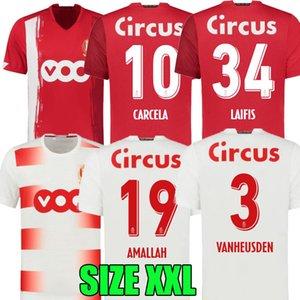Thaïlande 20 21 Standard Liège Soccer Jerseys Accueil 2020 2021 Standard de Liège Vanheusden Laifis Cimirot Emond Carcela Football Shirts