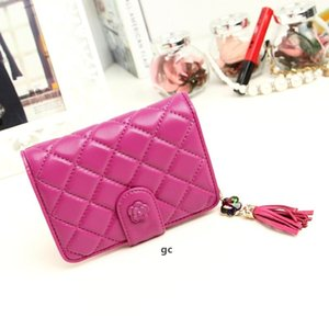 PU Leather Checkbook Wallets Case For Women Credit Card Slots Clutch Womens Coin Purse.
