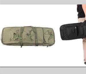 """حار بيع في الهواء الطلق على ظهره الصيد بندقية بندقية بندقية مربع حمل التكتيكية حقيبة بندقية حماية القضية حقيبة 95 سنتيمتر / 37.4 """"9 × 2"""