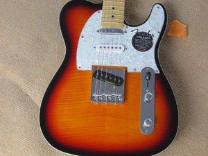 shipping 2014 new TELE Thailand calls guitar three pickups sunset colors guitar