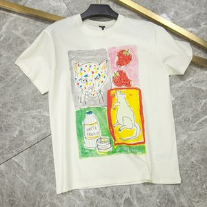 Summer 2020 new G zoo series leopard head mouse strawberry loose female T-shirt recommendation