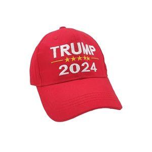 Élection présidentielle 2024 Trump Hat Lettres Lettres Baseball Chapeaux Unisexe Adulte Adulte Snapback Capback Trump USA HIP HOP Peak Cap G3202.