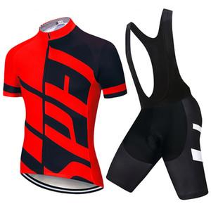 Nouvelle Espagne 2021 Pro Team Vêtements Été Summer manches courtes MTB Cyclisme Chemises Hommes Bike Jersey Ropa de Ciclismo