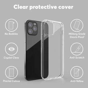 Phone Case TPU Case Clear For iPhone 12 11 pro max X XS XR 7 8 plus Transparent Soft back cover case