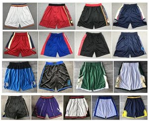 New Top Quality ! 2020 Team Basketball Shorts Men Shorts Sport Shorts College Pants White Black Red Purple Yellow