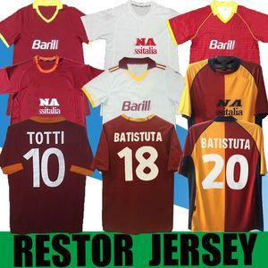 1991 2000 2001 Roma Retro Futbol Forması 1992 1994 00 01 Totti Nakata Batistuta Candela Montella Balbo 2002 91 92 94 Roma Maglia da Calcio