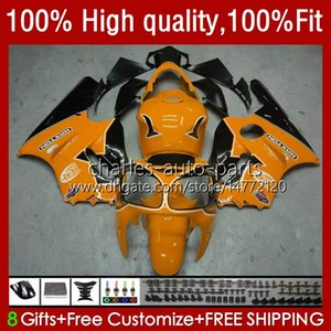 Injection OEM For KAWASAKI NINJA ZX-12R ZX 12R 1200CC 1200 CC 02-06 Body 3No.143 ZX1200 ZX 12 R ZX12R 2002 2003 2004 2005 2006 ZX1200C 02 03 04 05 06 ABS Fairing black orange