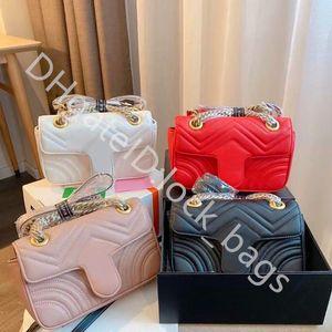 High Quaity Genuine Leather Hasp Hasp Senhoras Moda Handbags Onda Padrão Cadeia de Ombro Único Saco De Oferta Exquisite Senhora Senhora Cross Body Bags