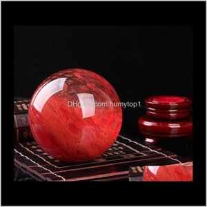 48--55 Mm Red Crystal Ball Red Smelting Stone Crystal Ball Sphere Crystal Healing Crafts Home Docorati Wmtdxo Itouz Xqt8B