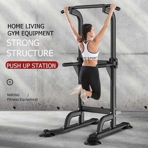 150KG Adjusable Pull Up Bar Horizontal Bars Multifunction Sport Workout Pull Up Station Power Tower Home Gym Fitness Equipment
