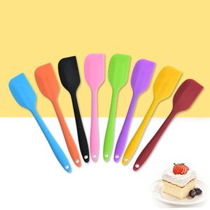 سيليكون صغير الكل في واحد مكشطة سيليكون مكشطة كريم مكشطة كعكة الخبز أدوات المطبخ T500460