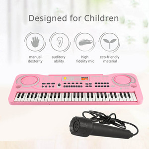 61 Keys Electronic Organ USB Digital Keyboard Piano Musical Instrument Kids Toy with Microphone electric piano for children kids