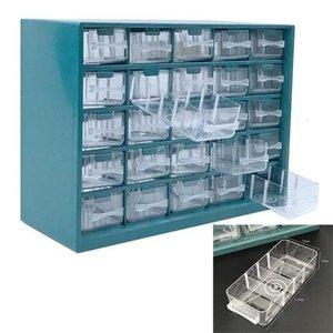 مكون الحائط 25 أجزاء من البلاستيك الأجهزة معلقة تصنيف المسمار تخزين شعرية نوع مربع أداة درج lqnub yh_pack
