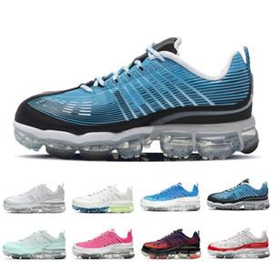 Sıcak Örgü 360 Erkek Kadın Koşu Ayakkabıları Siyah Yanardöner Üniversitesi Kırmızı Kraliyet Krem Lazer Mavi 360 S Erkek Eğitmenler Spor Sneakers