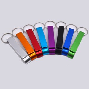 Aluminum alloy mini bottle opener can beer starter event gift creative key chain beer opening