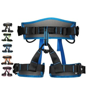Rock Climbing Harness Aerial Work Safety Belt Speed Drop Outdoor Protect Safety Wear Resistant Fall Prevention 119xdf1