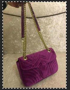 مصمم-مارمونت أكياس المخملية حقائب النساء حقيبة الكتف حقيبة مصمم حقائب اليد المحافظ سلسلة الأزياء حقيبة كروسبودي أكياس مارمونت