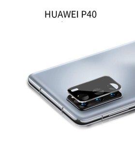Para Huawei P40 Pro Glass para Huawei P40 P40PRO Cámara de pantalla de lentes de lentes de cámaras de cristal templado de la lente protector
