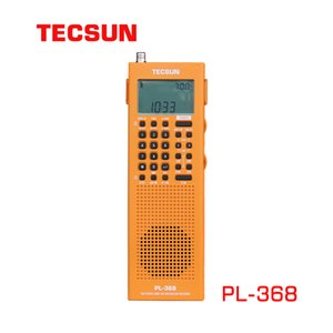 2021 Tecsun PL-368 64-108MHz Full Band Radio Stereo Radio SSB DSP Digitale Demodulation USB-Gebühr