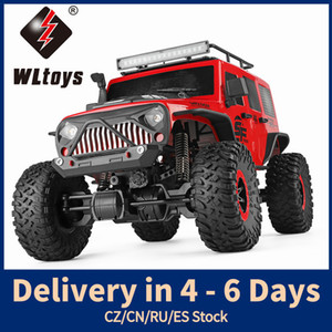 WLToys 104311 RC Auto 2. 1/10 Big Lustige Auto SUV gebürstet Motor Fernbedienung Off-Road Crawler Auto LJ200919