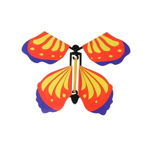 Flying Butterfly Card Surprise for Explosion Box Insert Paper Flying Fairy Wind Up Butterflies Toys for Girls Valentine's Day Gift