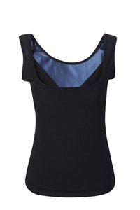 (200pcs lot) Women Original Unisex Sweat Sauna Shaper Waist Trainer Vest Corset Slimming Sports Tank Top Shapewear