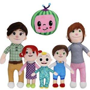 멜론 JJ 플러시 장난감 Cocomelon 키즈 선물 귀여운 박제 장난감 교육 인형 2021