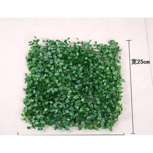 Wholesale 60pcs Artificial Grass Plastic Boxwood Mat Topiary Tree Milan Grass For Garden,home ,store,wedding De jllTrm outbag2007