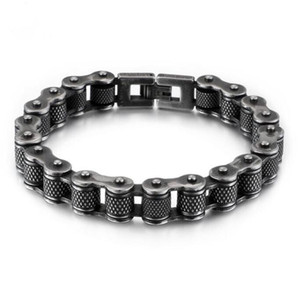 Fashion cycling bracelet personalized motorcycle chain bracelet men charm stainless steel bracelet jewelry for men ps1483