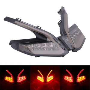 Motorbike LED Rear Turn Signal Tail Light Lamps Integrated Brake Light For Ducati 899 959 1199S 1199R 1299 Panigale