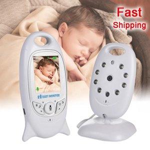 VB601 Monitor Baby 2 cal Bebe Baba Elektroniczny Opiekunko Radio Wideo Niania Kamera Night Vision Temperatura Monitorowanie 8 kołysanki