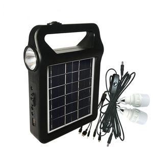 Солнечный генератор 6 Вт Солнечное освещение Система мобильного питания Фабрика Каталог OEM и ODM Service