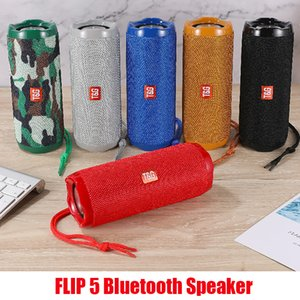 New Flip 5 Bluetooth Speaker Flip5 Portable Mini Wireless Outdoor Waterproof Subwoofer Speakers Support TF USB Card