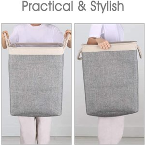 New Laundry Bag Folding Washing Bin Collapsible Washing Dirty Clothes Laundry Basket Portable Laundry Storage Bags sea shipping CCA3839