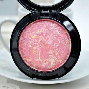 Blush 1PC Women Baked Face Base Mineral Blusher Palette Highlights Baking Powder Makeup Tool