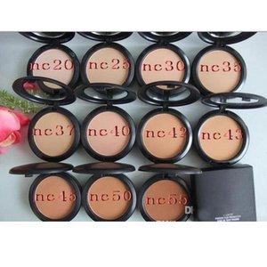 wholesale Sell 11 Colors Professional Makeup FIX POWDER PLUS FOUNDATION FOND DE TEINT POUDRS 15g face powder pressed powder good quality