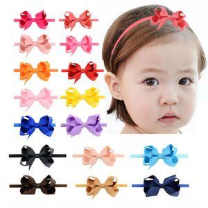Kids Bow Headbands Baby Girls Hair Bands For Newborn Girls Hair Head Band Children Multicolor Hair Accressories