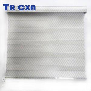 Blinds 7.8cm Backout Window Waterproof Shades Bedroom Dual Zebra Roller