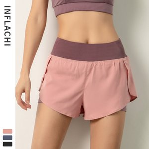 Women Fitness Shorts Quick Dry Jogging Gym Pants Yoga Workout Breathable Elastic Exercise Wear Ladies Spring Summer Loose Athletic Wears