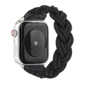 Elastic Woven Strap For Apple Watch 6 5 4 Braided Watchband For Iwatch Series 6 5 4 3 2 1 Watch Band