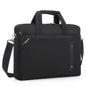 "High Quality Business Men Briefcase For Women Travel Office Work Messenger Bags Waterproof 14"" 15.6"" Laptop Hangbag Bolso Hombre Q0119"