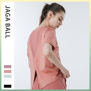Luxury Party Dresses Loose Back Fitns Cloth Breathable Fast Drying Thin Sports Yoga Women's Short Sleeve T-shirt