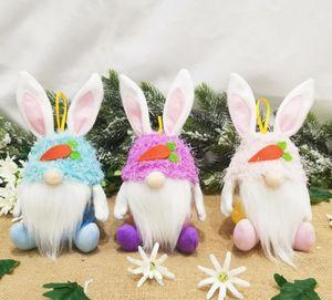 Barattolo di caramelle con coniglio senza volto di Pasqua 2021 Coniglio creativo coniglio coniglietto Caramella Deposito Portaferico BAMBINI BAMBINI GIOVANE EUBBURE CANDY GIOCATURE SN3738