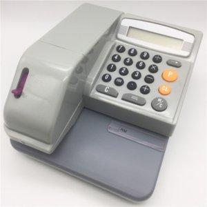 حبر بنك International Check Printer 16 بلدان الشيكات العملة تنقش الكلمات تحقق من طرف الطباعة دون قارئ بطاقة