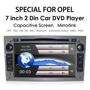 "7"" 2 Din Car DVD Stereo for Vauxhall Astra H G Vectra Antara Zafira Corsa GPS Navi Radio EQ Game Player RDS TPMS DAB+"
