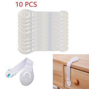 Carriers, Slings & Backpacks 10 Pieces Of Baby Child Safety Webbing Lock Plastic Cabinet Drawer Door Refrigerator Protector