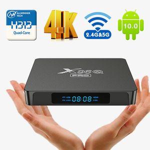 X96Q Pro TV Smart TV Box Android 10.0 Allwinner H313 رباعية النواة TVBox 4K UHD HDR 2.4G 5G WiFi Set-Top Boesx