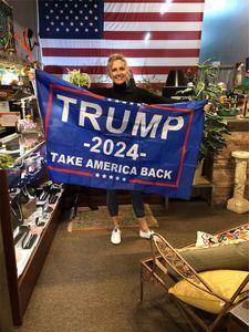Trump Election 2024 TAKE AMERICA BACK Black Bottom Double Gun Flag 90*150cm Election 2024 Trump Flag Fast Shipping