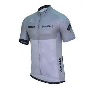 برو فريق strava جديد 2020 الصيف الدراجات جيرسي الرجال قصيرة الأكمام قمصان سريعة الجافة mtb الدراجة قمم ركوب الملابس 1