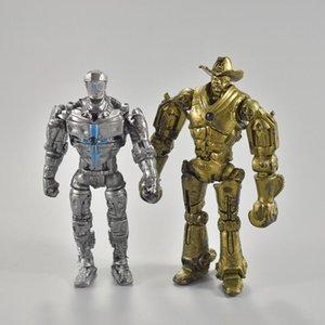 Real Steel Zeus Atom Midas Adam Raider Robot Model Toys Gift Action Figure 8pcs set 13cm